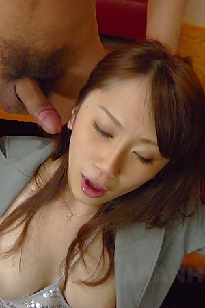 Sweet Yui Takashiro gets multiple cum loads