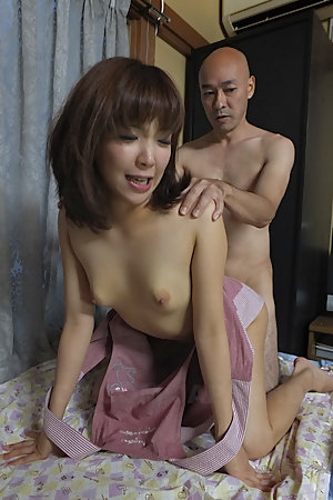 Hot Juri Kitahara gets a lot of cum on face