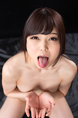 Shino Aoi Cum Filled Mouth Group Blowjob