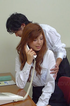 Hot Asian gal Rina Kikukawa enjoys in toying